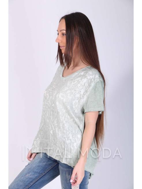 Футболка ажурная Made in Italy 2983